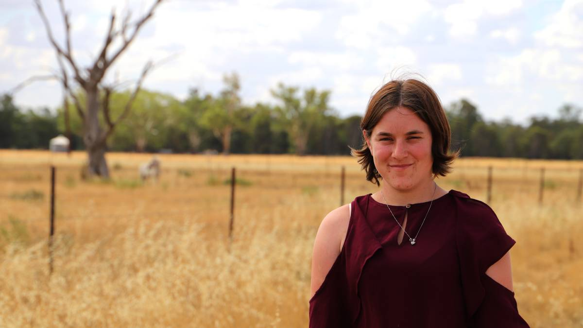 Forbes' Sally Downie is encouraging young people in agriculture to have their say at the UNICEF NSW youth drought summit. Photo Forbes Shire Council.