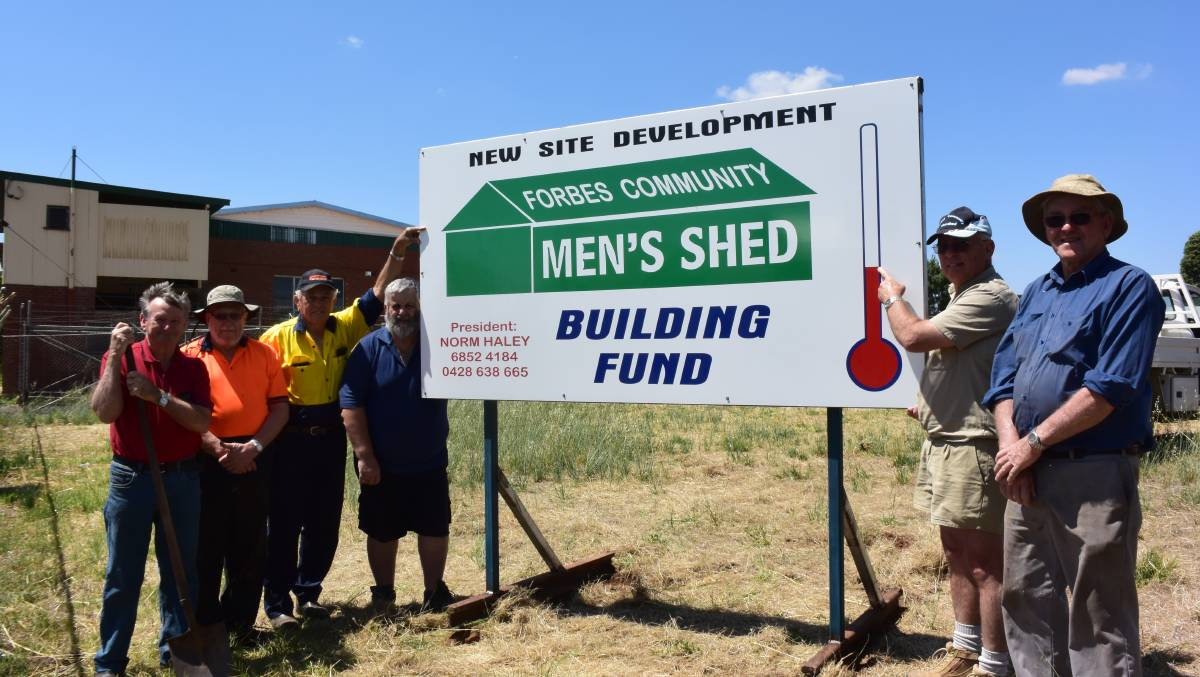 The Forbes Mens Shed is seeking funding to relocate to Union Street. File photo.