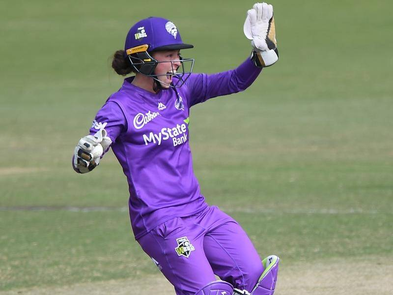 Hobart Hurricanes' Emily Smith will miss the rest of the WBBL season through suspension.