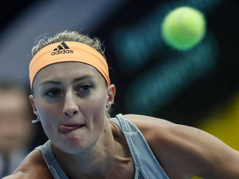Kristina Mladenovic is expected to play both singles and doubles for France in the Fed Cup final.